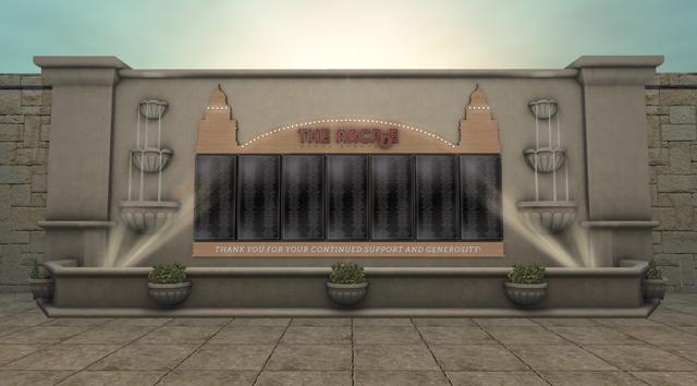 arcade fota fountain