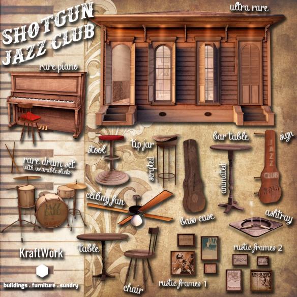 KraftWork Shotgun Jazz Club